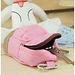 A027 Korea Cute Bear Canvas Bag Backpack Purse Phone Package Coin Package Double Multifunction Wallets
