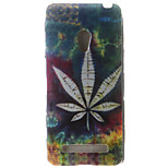 Leaf Painting Pattern TPU Soft Case for Asus Zenfone 5