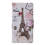 Eiffel Tower Pattern PU Leather Full Body Case with Stand and Card Slot for Samsung Galaxy S7 Edge Plus/S7 Edge/S7