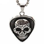 Skull Titanium Individuality Pendant Necklace