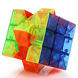 Toys Yongjun® Magic Cube 3*3*3 Professional Level Magic Toy Smooth Speed Cube Magic Cube puzzle Transparent Plastic