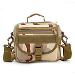 8 L Shoulder Bag Camping & Hiking Outdoor Waterproof / Multifunctional Camouflage Nylon