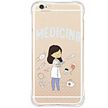 Shockproof Pattern Sexy Lady TPU Soft Case Back Cover For Apple iPhone 6s Plus/6 Plus/iPhone 6s/6/iPhone SE/5s/5