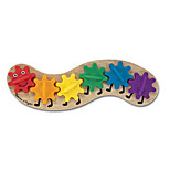 Wooden Caterpillar Toy