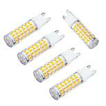 5W E14 LED a pannocchia T 75 SMD 3528 400-480 lm Bianco caldo / Luce fredda Decorativo AC 220-240 V 5 pezzi