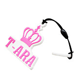 T-ARA LOGO Mark Phone Dust Plug