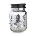 Starry Night Light Solar LED Sun Moon Jar