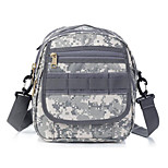 10 L Camera Bag Camping & Hiking Outdoor Waterproof / Shock Resistance Gray Nylon