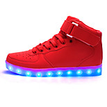 Women's LED Shoes Casual Fashion Comfort / Round Toe / Flats Outdoor &Party Shoes