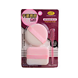 Wet And Dry Powder Puff 2 Cleansing Flutter-Random Delivery