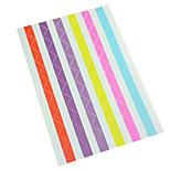 10pcs albums Angle sticker random color