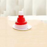 Scalable Silicone Kitchen Gadget / New Plastic Funnel(Random Colour)