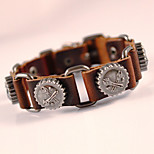 Special Classical Vintage Mens Leather Braclet Fashion Jewelry For Men Punk Rock