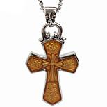 Retro Super Cross Titanium Necklace Pendant