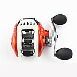 Molinetes Rotativos 6.3/1 0 Rolamentos Trocável Isco de Arremesso / Pesca Geral-LV100 Yuqu