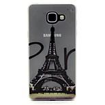 Eiffel Tower Pattern Pattern Relief Glow in the Dark TPU Phone Case for Motorola Moto G4/G4 Play