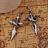 Silver Cross Alloy Pendant for DIY Jewelry
