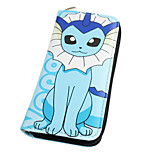 Inspired By Pocket Little Monster Vaporeon Long 19cm PU Leather Wallet