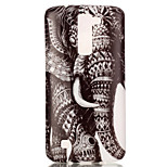 The New Elephant Painted Patterns TPU Soft Case Phone Case For LG K4/K8