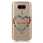 espalda Transparentes Other TPU Suave Transparent Cubierta del caso para LG LG K5 / LG G5