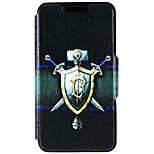 Kinston® Shield and Sword Pattern PU Leather Full Body Cover with Stand for iPhone SE/5/5s/6/6s/6 Plus/6s Plus