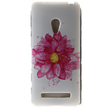 Flower Painting Pattern TPU Soft Case for Asus Zenfone 5