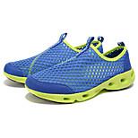 Blue/Dark Gray/Black Breathability Rubber Running Shoes for Men