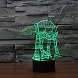3 D Led Night Light Household Adornment