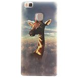 Giraffe Painting Pattern TPU Soft Case for Huawei Ascend P9 Lite P9Mini/ P8 Lite P8Mini