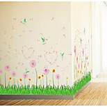 Arcade Cabinet Door Glass Door Glass Shop Window Sticker Glass Wall Decals Affixed Baseboard Plant