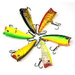 Для рыбалки-6 штук-3D Жесткие пластиковые-Морское рыболовство Ловля на приманку Троллинг и рыболовное судно