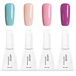 12ml Azure Summer Color Nail Polish 4PCS Soak off UV Gel Nails Art Decoration NO.2