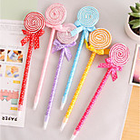 Flat Lollipop Ballpoint Pen Cartoon Cute School Supplies Student Gift Ideas