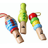 Wooden Whistle Baby Toy