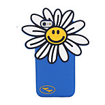 3D Sunflower Silicone Case for iPhone 6/6S Case