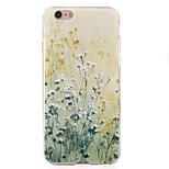 terug bloem TPU soft schokbestendige geval dekking voor Apple iPhone 6s plus / 6 plus / iphone 6s / 6