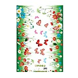 Removable Waterproof Skirting Wall Stickers Affixed To The Foot Line Waistline Nursery Glass Decorative Sticker