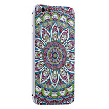 Colorful Mandala Pattern Metal Frame PC painted  Hard Case for iPhone6/6s/6 Plus/6s Plus