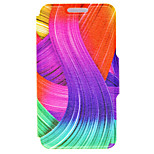 Kinston® Color Ribbon Pattern PU Leather Full Body Cover with Stand for iPhone SE/5/5s/6/6s/6 Plus/6s Plus