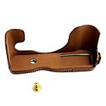 Fujifilm Camera X30 Leather Protective Half Case/Bag
