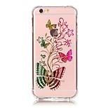 iphone 7 und stoßfest transparent Schmetterling tpu weichen Bronzing Handwerk Fallabdeckung für iphone 6s 6 Plus se 5s 5