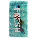 Pineapple Pattern TPU+IMD Soft Case for Multiple Nokia Lumia 640/N535/N630/N530