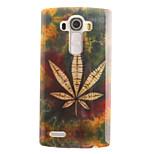 Leaf Painting Pattern TPU Soft Case for LG G4/G4Mini/G4C/G3Mini/G3