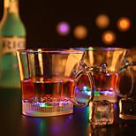 1st färgrik färg kreativa pub KTV LED-lampa nattlampa ledde drinkware