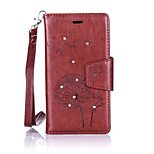 Dandelions Diamond Flip Leather Cases Cover For LG K5/K7/K10/G5 Prime Strap Wallet Phone Bags