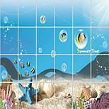 The Underwater World Pattern Oil-proof Sticker