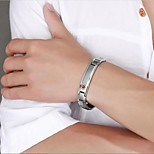 Chain Bracelets / Bangles 1pc,Fashionable Others Silver Titanium Steel Jewelry Gifts