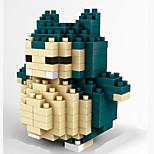 Wisehawk Brand Snorlax ABS Super Mini 221 Pieces Diamond Blocks