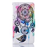 Tuta A portafoglio / Capovolgere Other Similpelle Morbido Card Holder Copertura di caso per LG LG K10 / LG K8 / LG K7