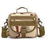 8 L Shoulder Bag Camping & Hiking Outdoor Multifunctional Camouflage Nylon
